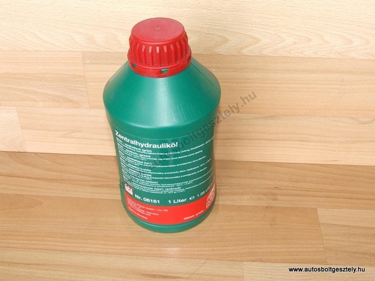 Szervó olaj zöld