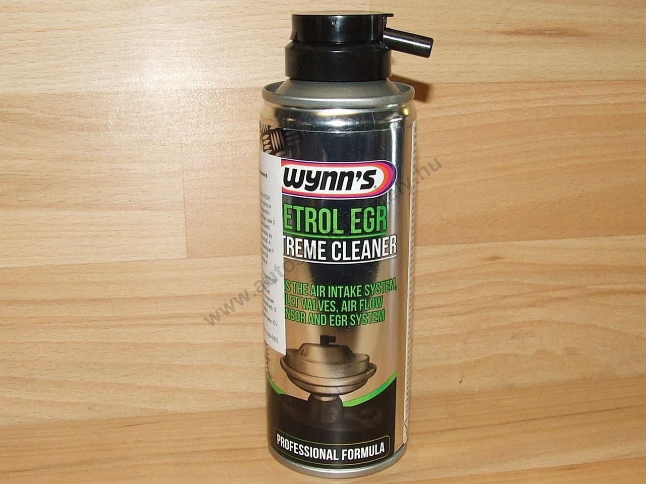 Légtömegmérő tisztító spray